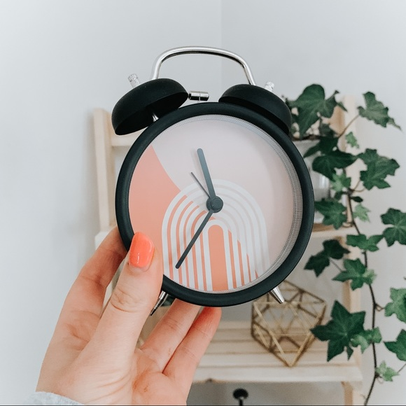 Rainbow Retro Clock